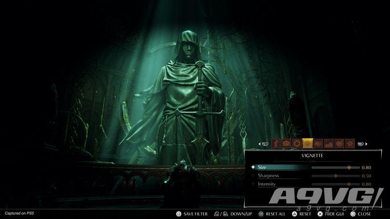 《惡魔之魂 重制版》角色創建界面和照片模式展示