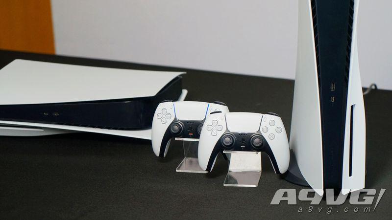 PlayStation 5 &手柄DualSense實拍圖集 現場實機感受