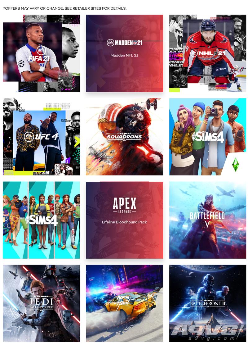 EA开启黑五特惠活动 《FIFA 21》《星球大战 战机中队》等打折
