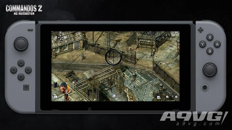 《盟军敢死队2 高清版》将于12月4日登陆Switch 新