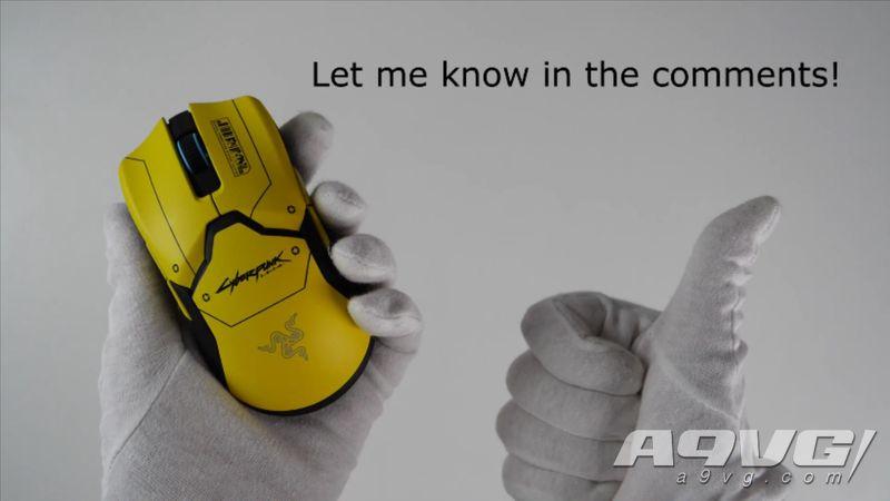 讲究哥《赛博朋克2077》开箱 限定机、手办、鼠标、阿迪鞋