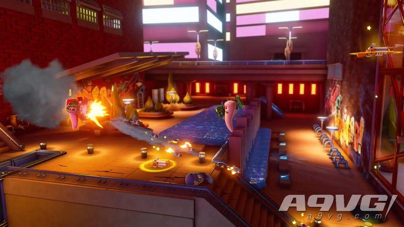 《百战天虫 大混战》上市预告片公开 现已加入PS+会免阵容