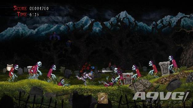 Switch《经典回归 魔界村》公布 2021年2月25日发售