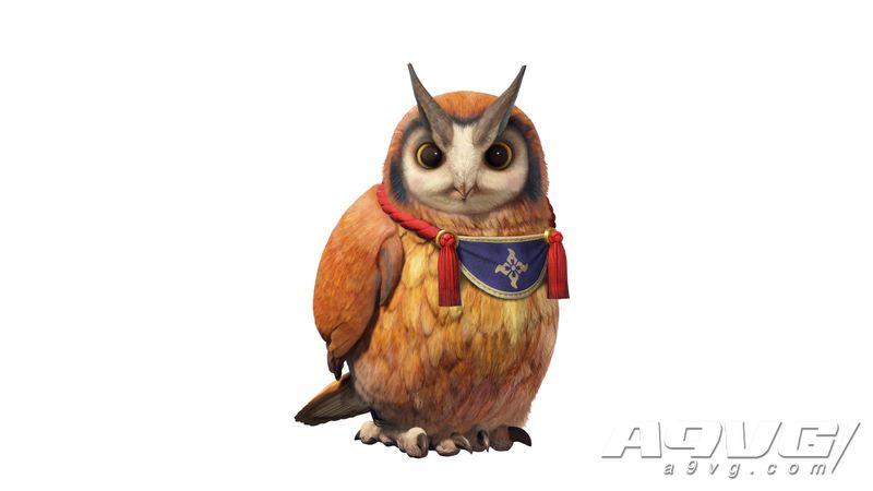 """《怪物猎人 崛起》公开新宠物""""福木兔"""" 会告知怪物位置的猫头鹰"""