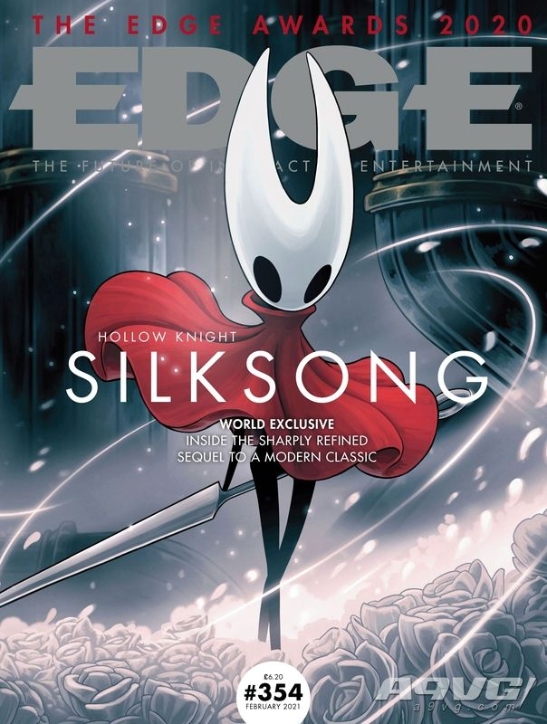 Edge杂志最新一期封面为《空洞骑士 丝之歌》 将收录独家消息