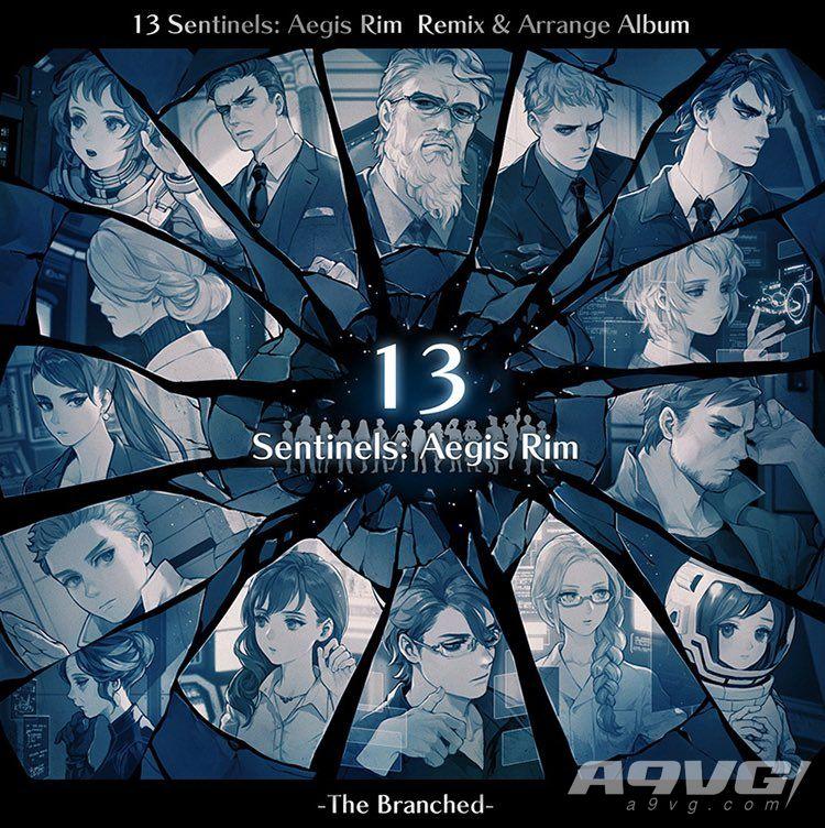 《十三机兵防卫圈》新编曲CD封面图公开 将收录因幡深雪新歌