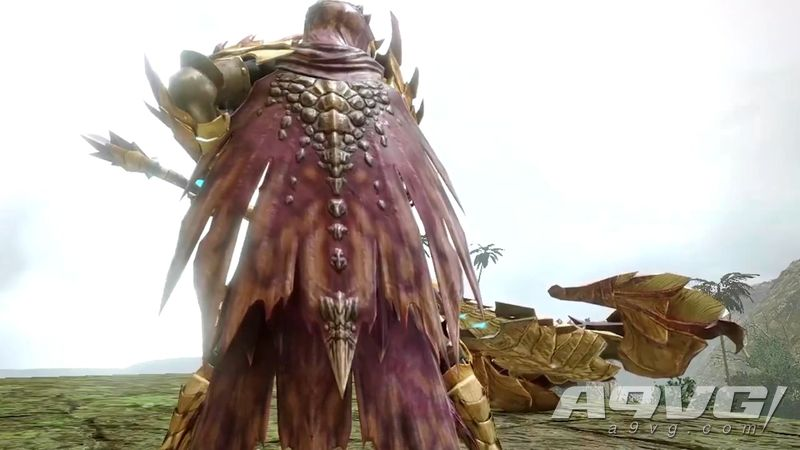 《怪物猎人 崛起》官方公布人鱼龙素材装备介绍视频