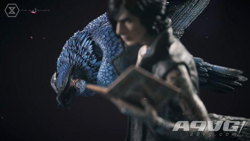"Prime 1 Studio推出《鬼泣5》魔兽使役者""V""1/4雕像"