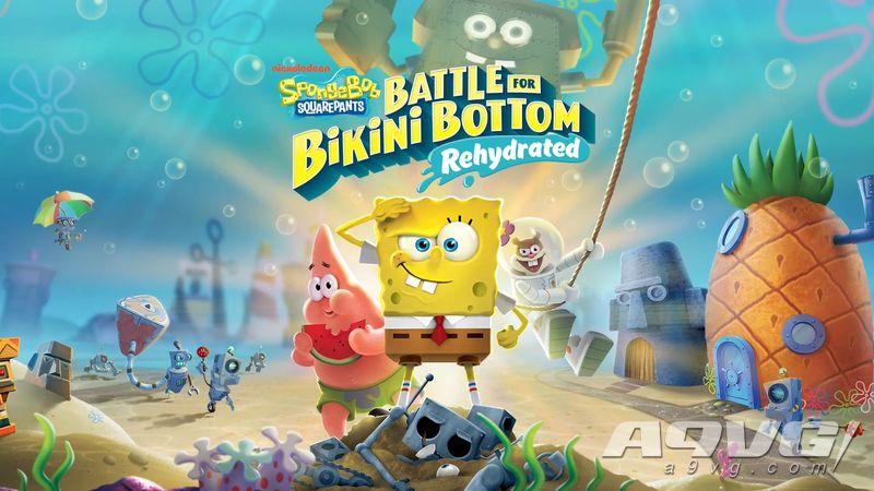 《海绵宝宝 为比奇堡而战 补水》1月21日登上iOS和安卓平台