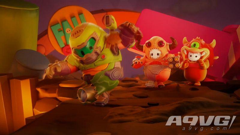 《糖豆人》x《毁灭战士 永恒》联动宣传视频公开 1月12日上线