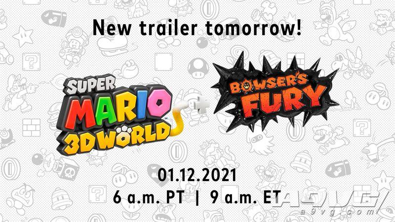 《超级马力欧3D世界 + 狂怒世界》最新宣传片将于今日公开