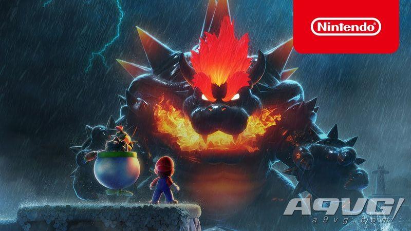 《超级马力欧3D世界 + 狂怒世界》Switch限定机和新宣传片公开
