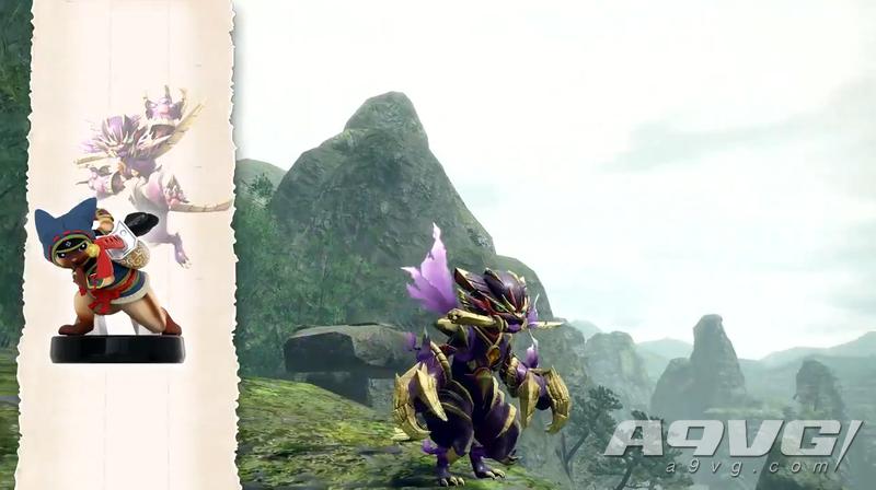 《怪物猎人 崛起》主题amiibo解锁装备实机演示公开