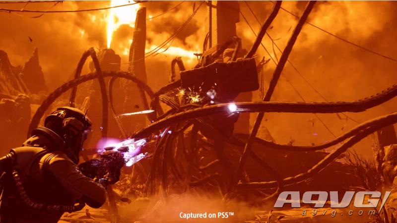 《Returnal》战斗细节介绍:可升级武器、异世界工具和具有风险的收集品