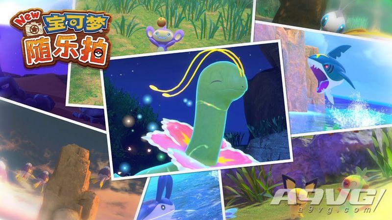 Switch《New宝可梦 随乐拍》4月30日推出 探索岛屿宝可梦生态