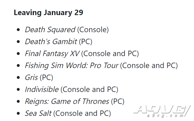 XGP近期新入库游戏一览 包含如龙高清合集、灵媒、异度暗影等