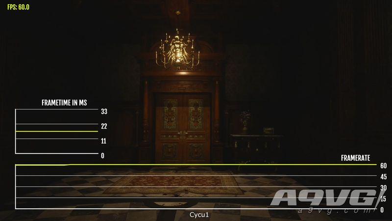 《生化危机8 村落》试玩帧数测试公开 4K模式下大部分时间60帧