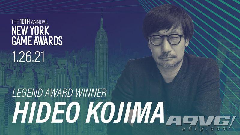 小岛秀夫获得纽约游戏奖「传奇奖」 呼吁世界和平、最爱PS1