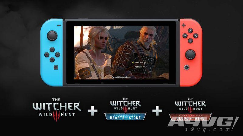 NS《巫师3》新增单独购买游戏本体/DLC选项 原完全版将下架