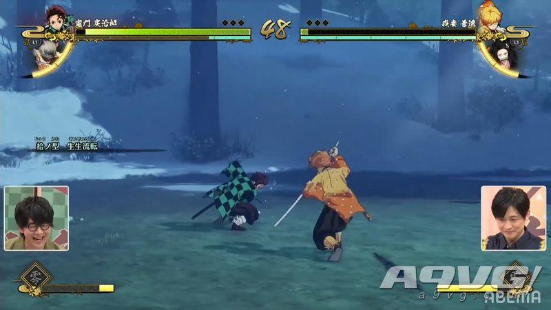 《鬼灭之刃 火神血风谭》实机演示公开 展示对战模式基本玩法