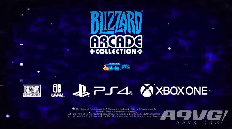 《暴雪街机合集》正式公开 将登陆PS4、Xbox、Switch、PC
