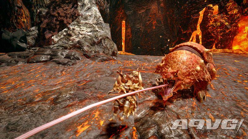《怪物猎人 崛起》赤甲兽实机演示公开 四处冲撞的牙兽种