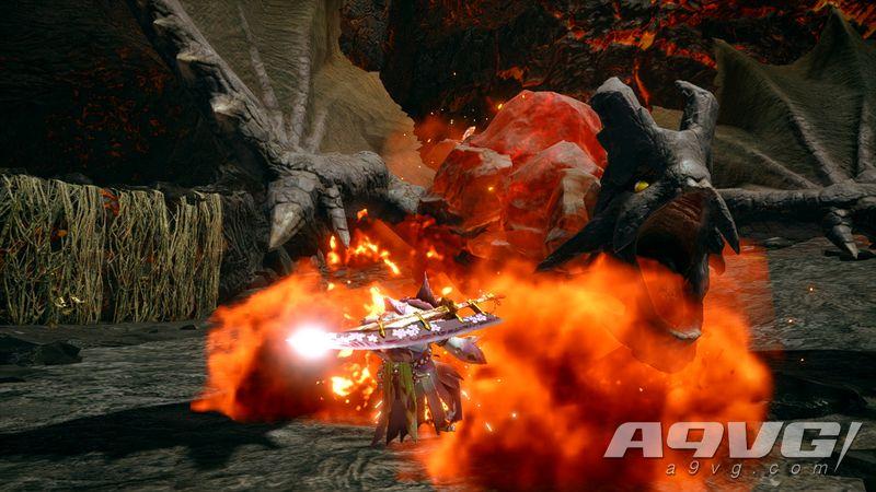 """《怪物猎人 崛起》公开""""岩龙""""实机演示 矿石外壳特征的飞龙种"""