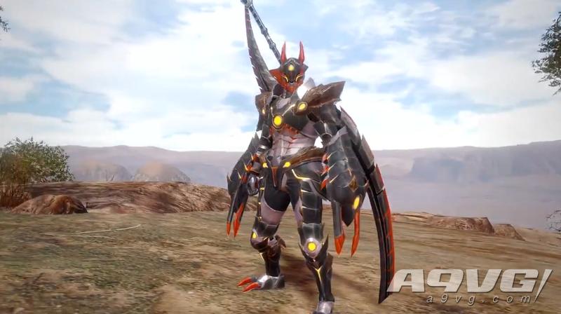 """《怪物猎人 崛起》公开""""泥翁龙""""系列装备实机展示"""