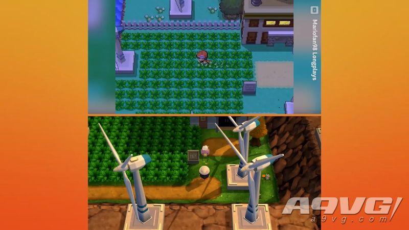 《宝可梦 钻石/珍珠》重制版与原版画面对比视频公开