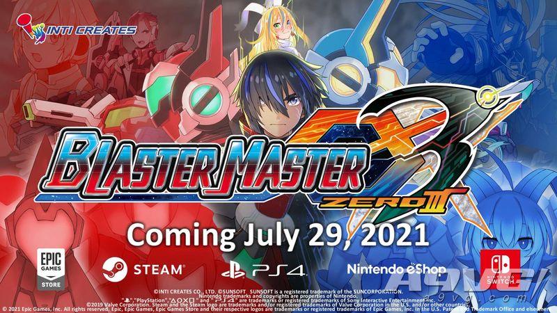 《超惑星战记Zero 3》发表 7月29日登录PS4、Switch和PC
