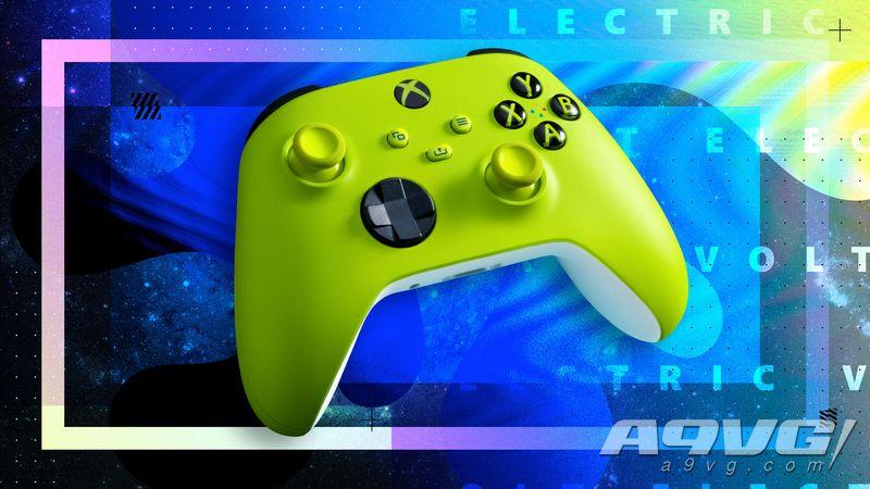 Xbox Series X|S手柄两款新色公开 分别在4月底与5月初发售