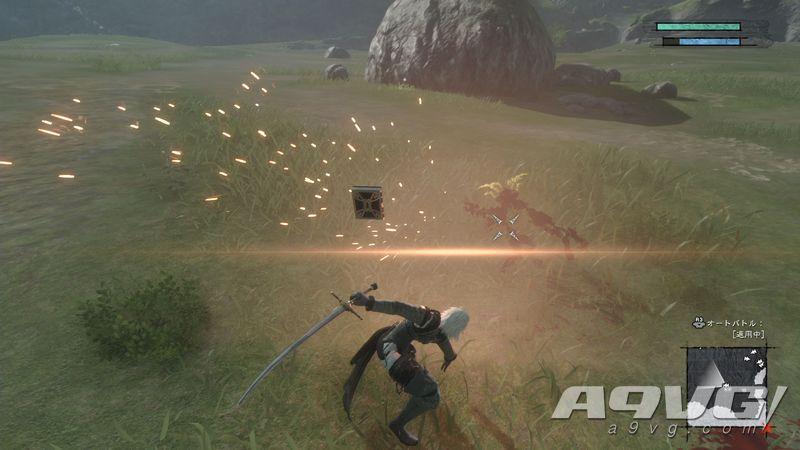 《尼尔 人工生命 升级版》新试玩演示公开 这部也有自动模式