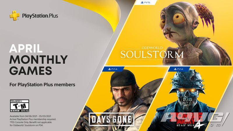 PS+会员2021年4月免费游戏汇总 Plus港服日服欧美服会免阵容