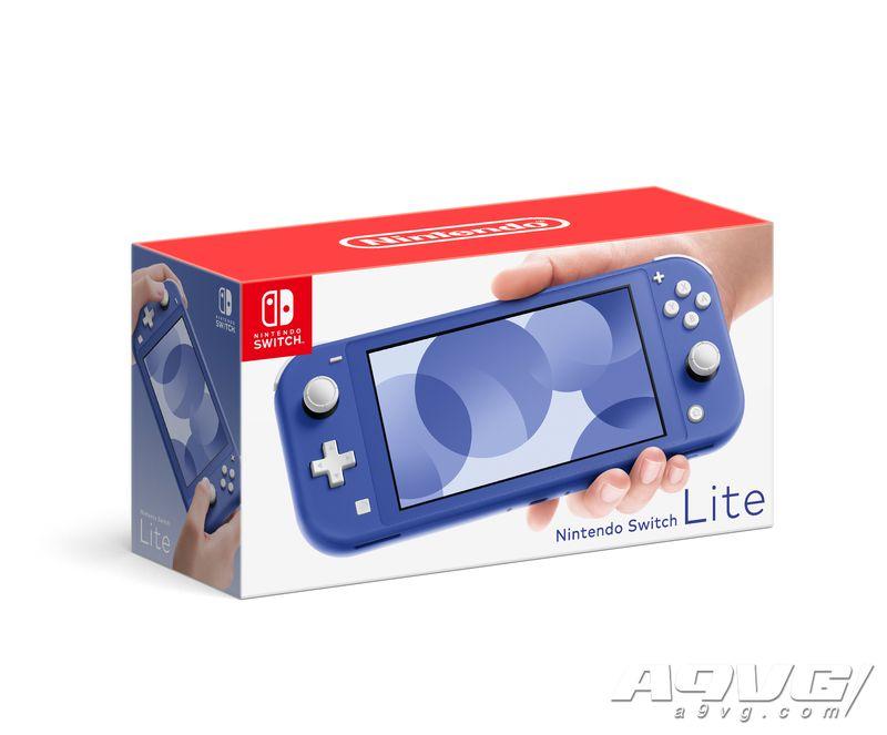 Switch Lite新配色「蓝色」公开 2021年5月正式推出