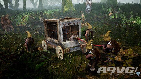 地精模拟游戏《Gnomepunk》上架Steam页面 打造一支地精军队