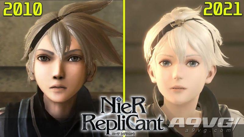 《尼尔 人工生命 升级版》VS PS3原版对比视频