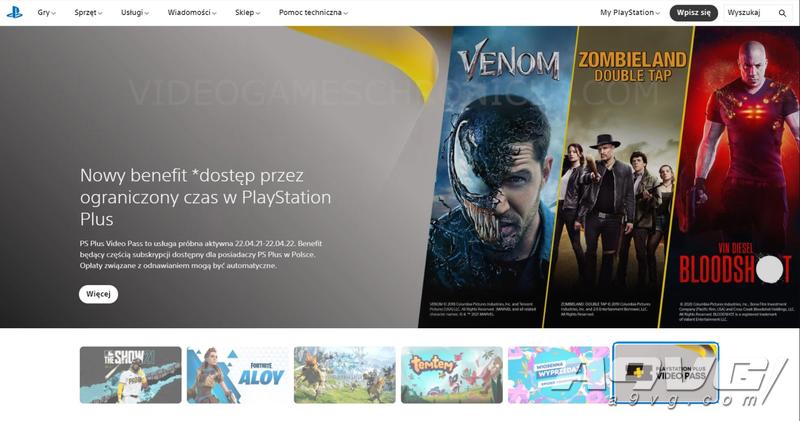 传闻:波兰官网显示索尼或为PS+会员提供更多影音内容