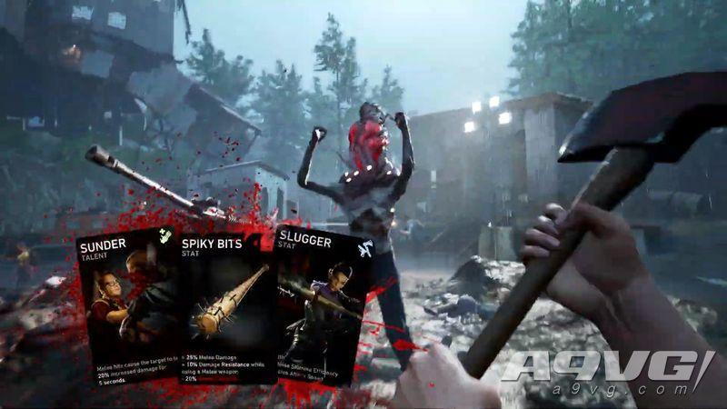 《求生之路》精神续作《Back 4 Blood》公开卡牌系统介绍