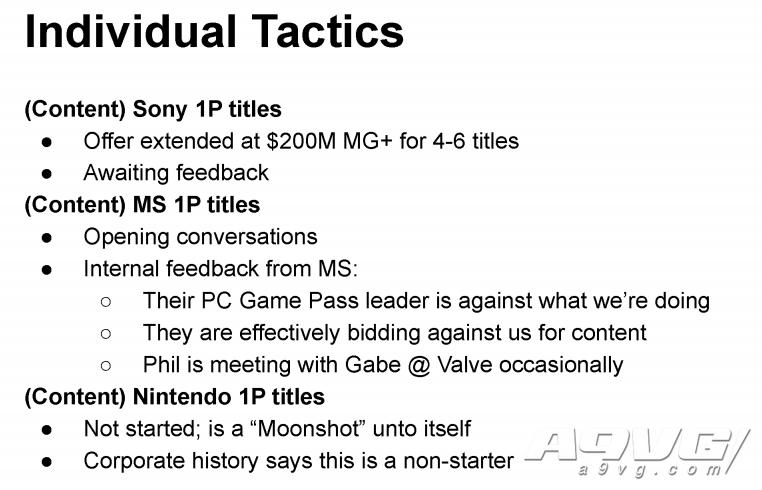 传闻:Epic尝试引进索尼、微软、任天堂的第一方游戏
