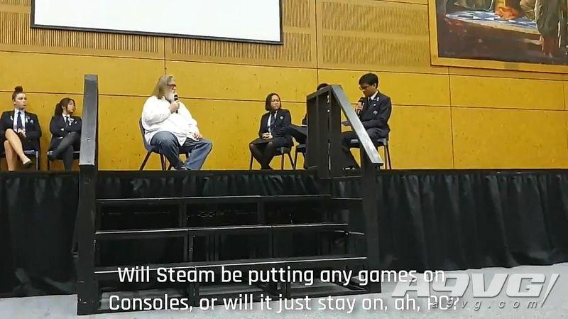 G胖暗示更多Valve游戏或将登陆主机 今年内公布更多消息