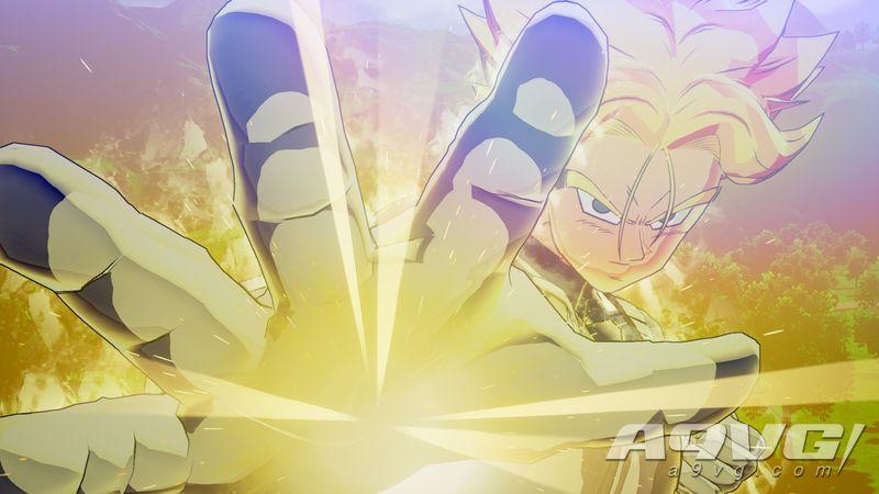 《七龙珠Z 卡卡洛特》后续DLC新截图公开 沙鲁与未来大特登场