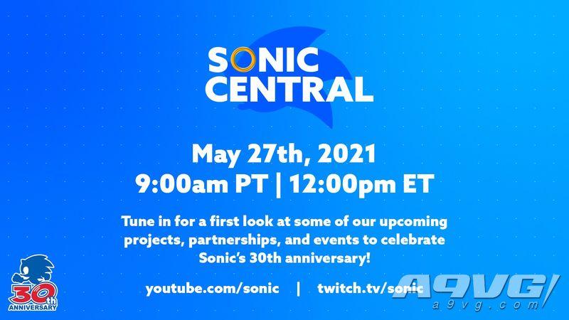 《索尼克》30周年纪念直播将于5月28日举办 会有新作公开