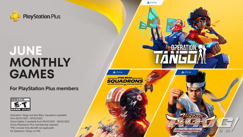 PS+会员2021年6月免费游戏汇总 Plus港服日服欧美服会免阵容