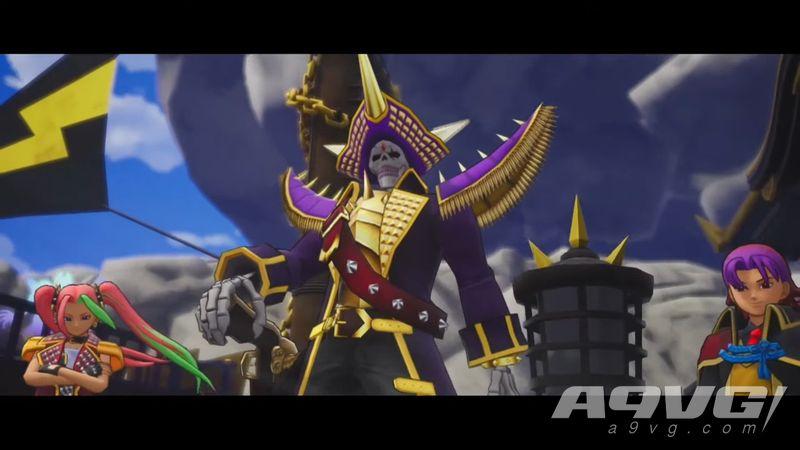 《勇者斗恶龙宝藏篇》宣传片公布 DQ11卡缪与他妹妹为主角