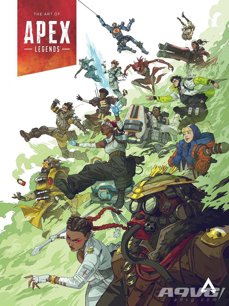 《Apex英雄》美术作品集将于11月发售 完整讲解游戏世界观及细节