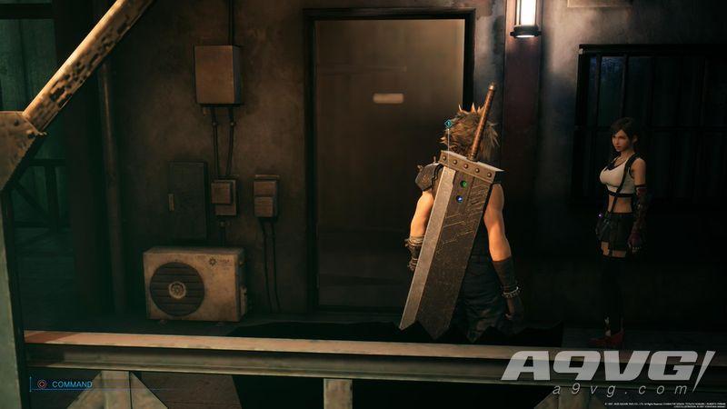 PS5《最终幻想7 重制版 Intergrade》终于修复了那扇门的贴图