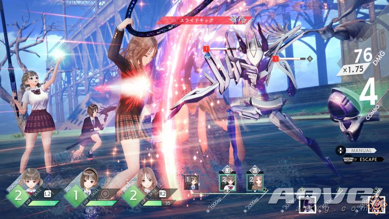 《蓝色反射 帝》采访 追求手感和趣味性 焕然一新的战斗系统
