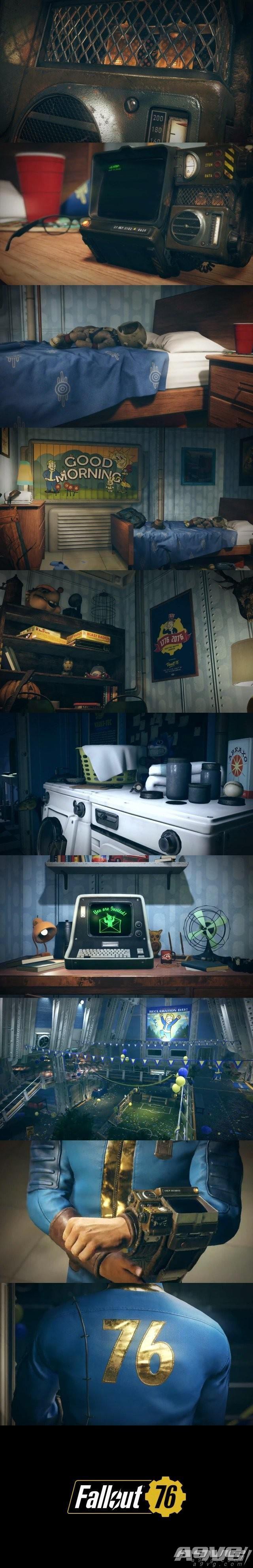 Bethesda发表新作《辐射76》 更多消息将在E3公布