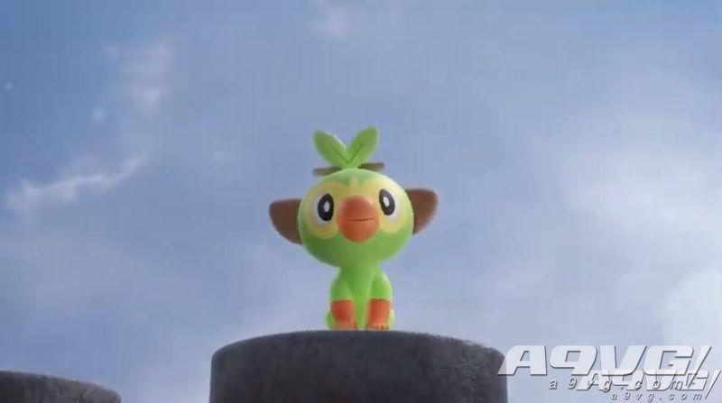 精灵宝可梦G8新作《宝可梦 剑/盾》公布 今冬NS平台发售