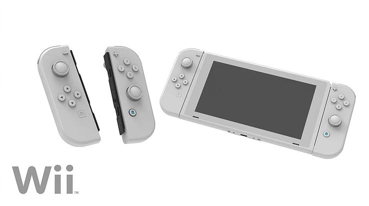 玩家自制怀旧配色Joy-Con概念图 包含FC、N64等主题